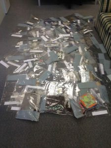 Some of the drugs seized by police at Wee Jasper last weekend.
