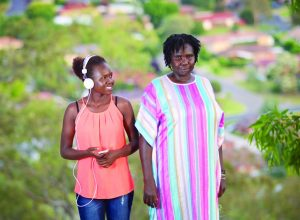 Sudanese refugee Constance Okot and her daughter Vicky have lived in Wagga Wagga for over ten years.